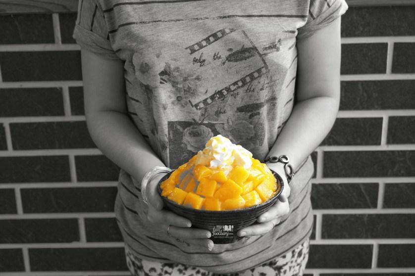 Mango Bing Go Korean Dessert Cafe by Myfunfoodiary