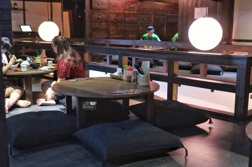 Second Floor Tatami Area at Tontoki Restaurant MidPlaza by Myfunfoodiary