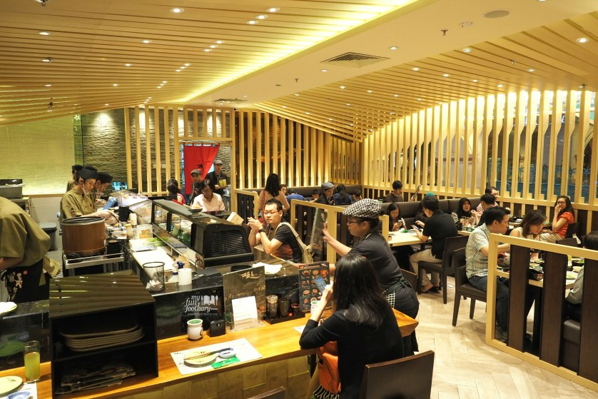 Suasana Itacho Sushi Grand Indonesia by Myfunfoodiary