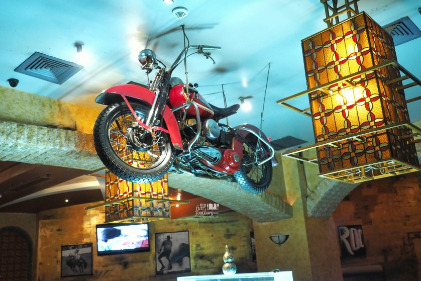 Cool Motorcycle at Desperados by Myfunfoodiary