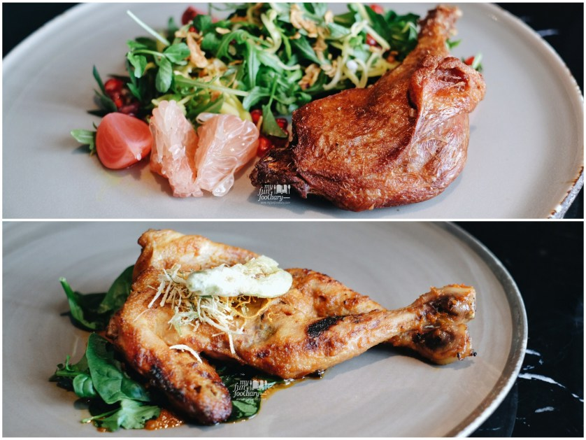 Duck Galangal and Rujak Chicken at 1945 Restaurant by Myfunfoodiary