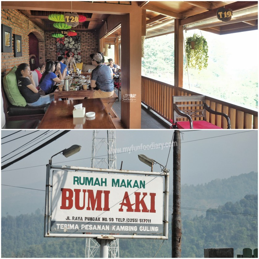 Outdoor side Bumi Aki Puncak by Myfunfoodiary