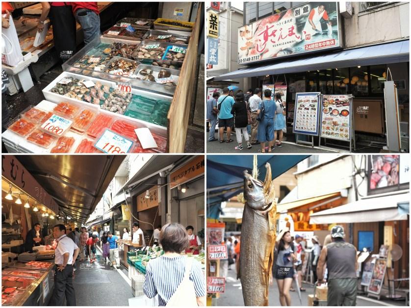 Outer Market at Tsukiji Market by Myfunfoodiary