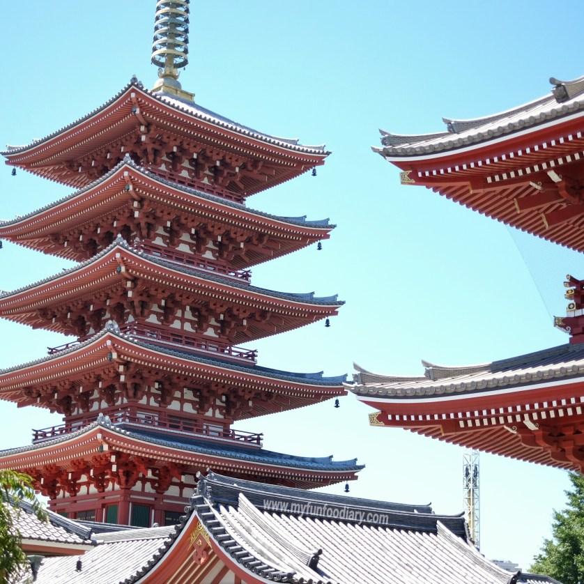 Sensoji Temple at Asakusa Tokyo by Myfunfoodiary