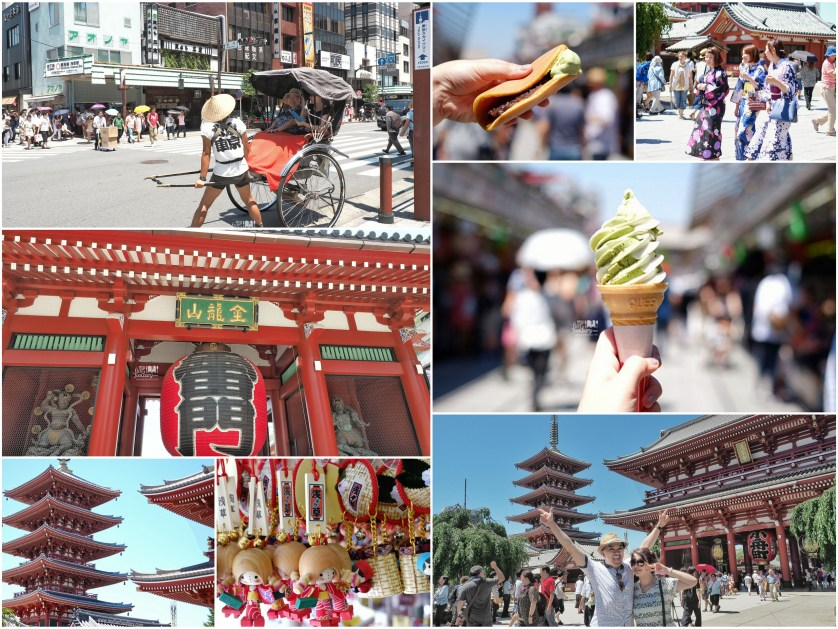 Sightseeing and snacking at Asakusa Tokyo by Myfunfoodiary
