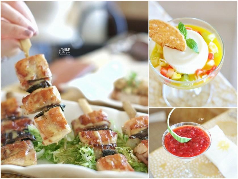Yakitori and some desserts at Soleil The Mulia Bali by Myfunfoodiary