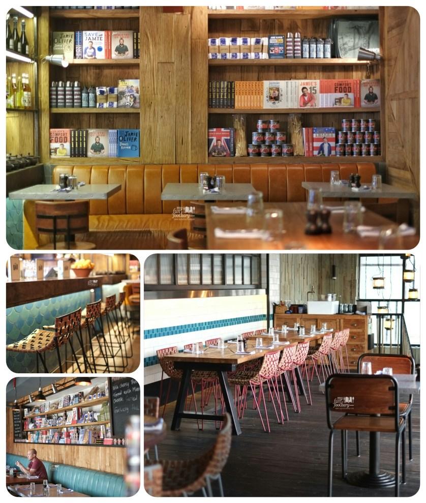 Ambiance at Jamie's Oliver Kuta Bali by Myfunfoodiary