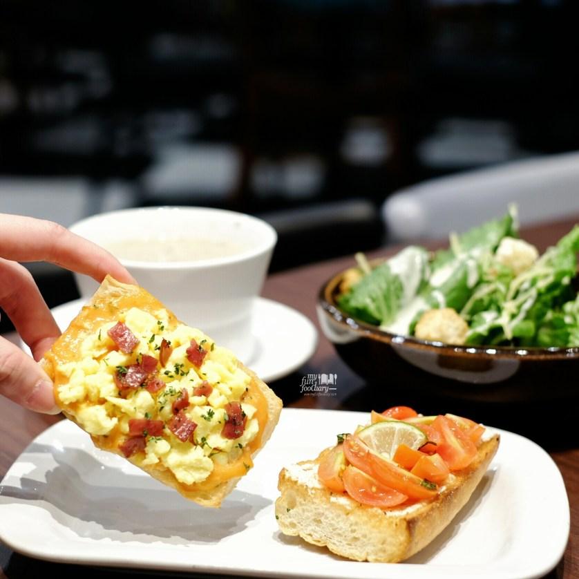 Bruschetta Sunshine and Cherry Tomatoes at The Kitchen Pizza Hut by Myfunfoodiary