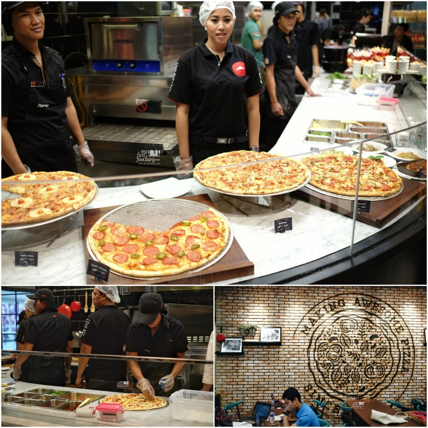 Display Counter at The Kitchen Pizza Hut by Myfunfoodiary