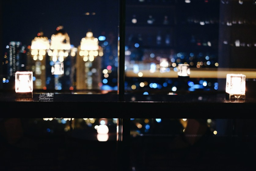 Romantic ambiance at the View Fairmont Jakarta by Myfunfoodiary