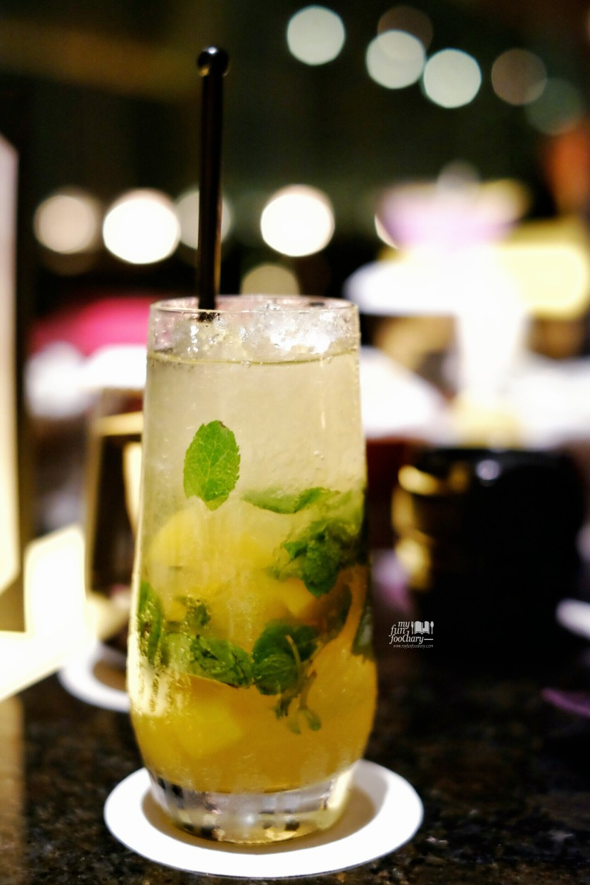 Peach Sparkle at The View Gastro Bar by Myfunfoodiary