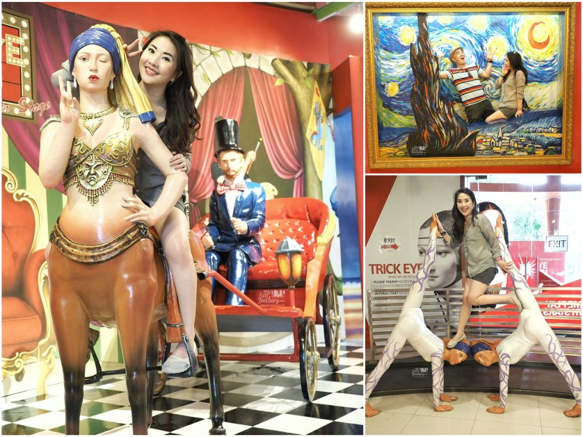Centaur Chariot - Starry Night - Performers at Trick Eye Museum Singapore by Myfunfoodiary