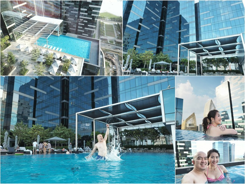 Infinity Pool at Westin Singapore by Myfunfoodiary collage