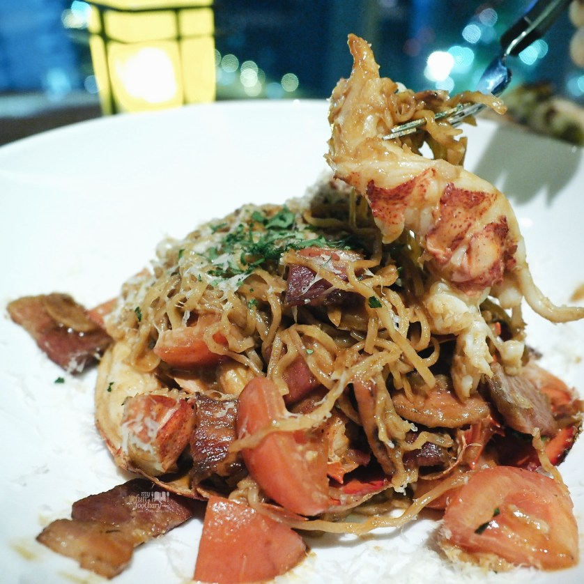 Lobster Spaghetti at Cook and Brew Westin Singapore by Myfunfoodiary