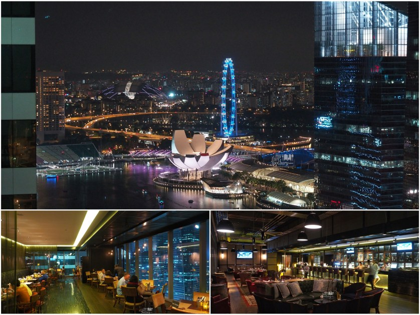 Romantic Night View at Cook and Brew Westin Singapore by Myfunfoodiary