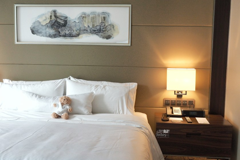 Super comfortable Heavenly Bed King Size at Westin Singapore by Myfunfoodiary
