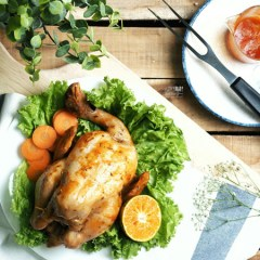 [RECIPE] Barbecue (BBQ) Roasted Chicken with Orange
