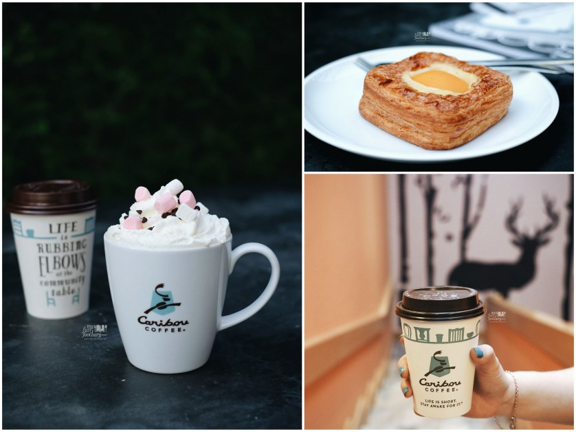 Campfire Mocha + Apricot Danish and Latte at Caribou Coffee Senopati by Myfunfoodiary