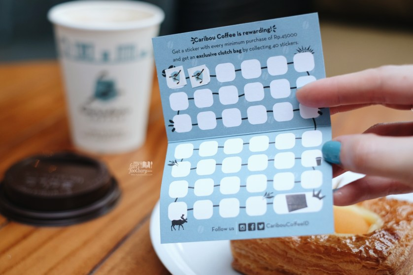 Collect Stamp Card at Caribou Coffee Senopati by Myfunfoodiary