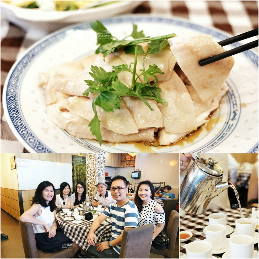 Steam Chicken at Boon Tong Kee Singapore with Friends by Myfunfoodiary