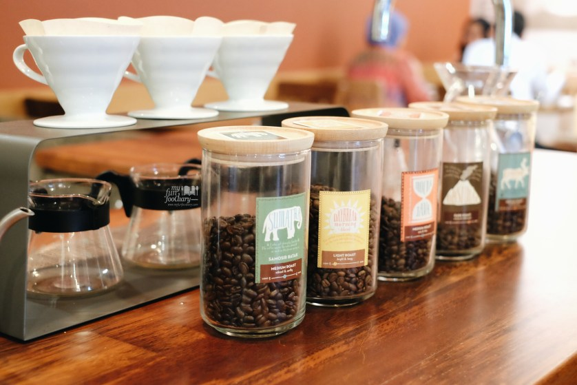 Various Indonesian Coffee at Caribou Coffee Senopati by Myfunfoodiary