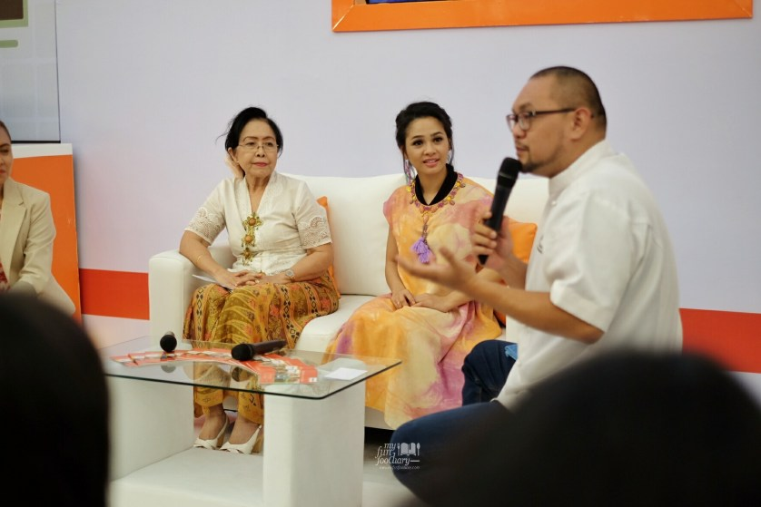 Chef Lucky for the talkshow at Panasonic Cooking by Myfunfoodiary