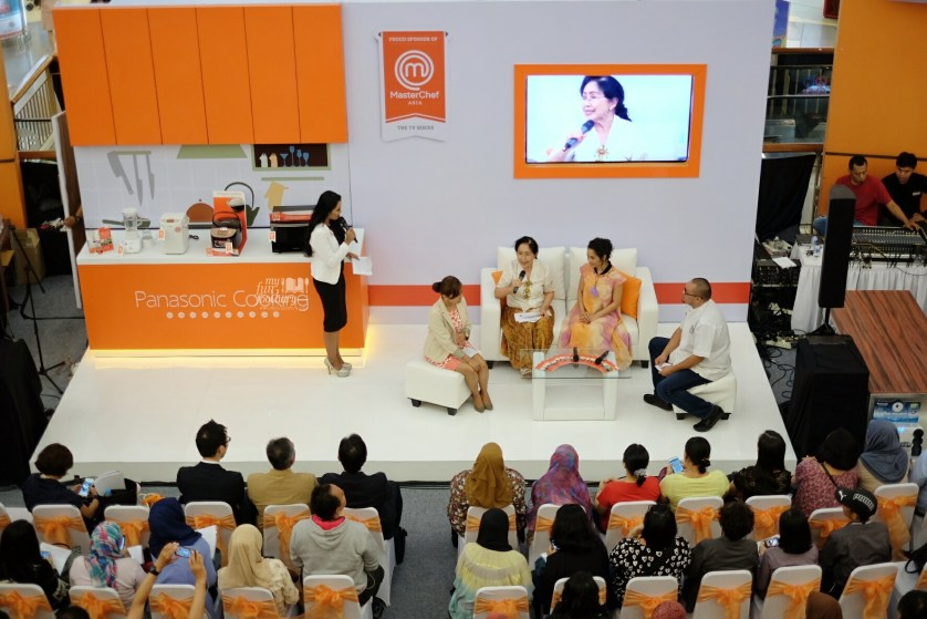 Healthy Live Talk Show at Panasonic Cooking MKG by Myfunfoodiary