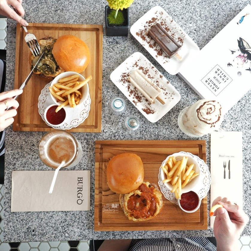 Our Burger Lunch Situation at Burgo Restaurant by Myfunfoodiary