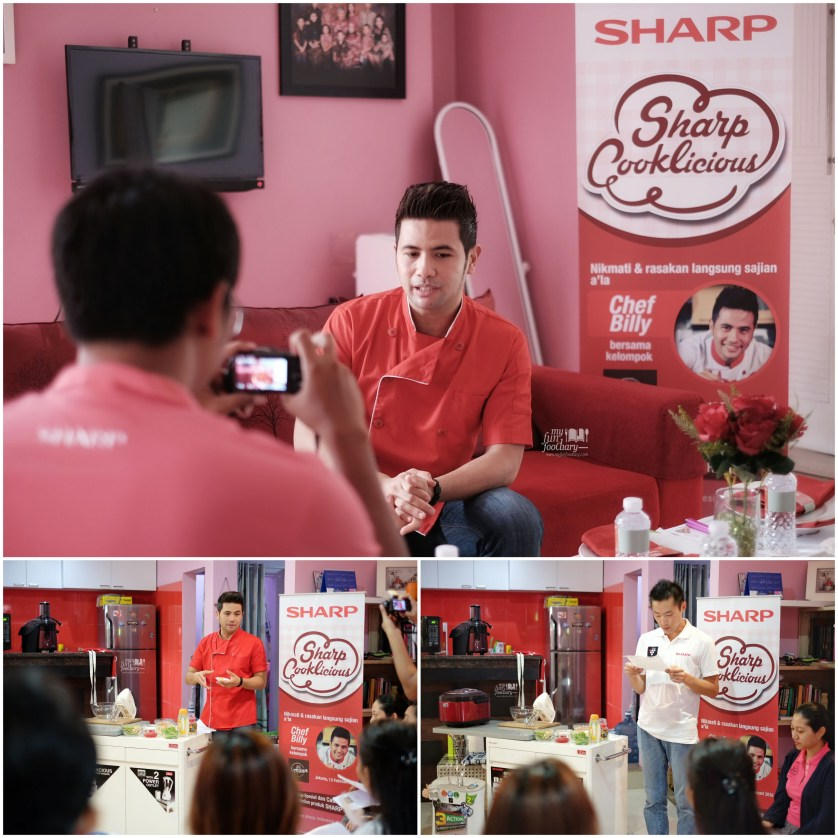 Chef Billy for Sharp Cooklicious by Myfunfoodiary