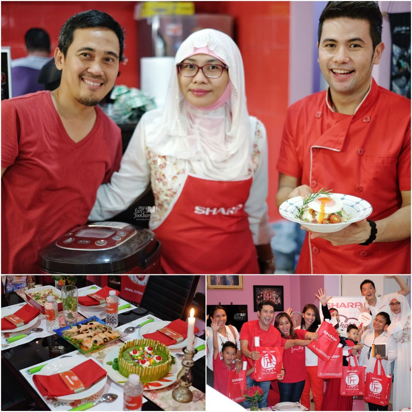 Final acara Sharp Indonesia with Chef Billy - by Myfunfoodiary