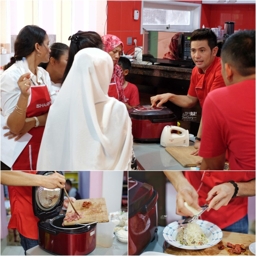 One Rice Cooker for so many dishes by Sharp Indonesia - by Myfunfoodiary