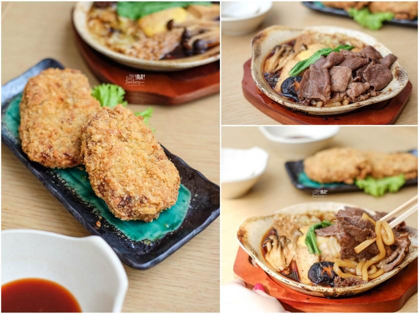 Potato Croquette - Sukiyaki Nabe Beef at Tsubohachi PIK by Myfunfoodiary