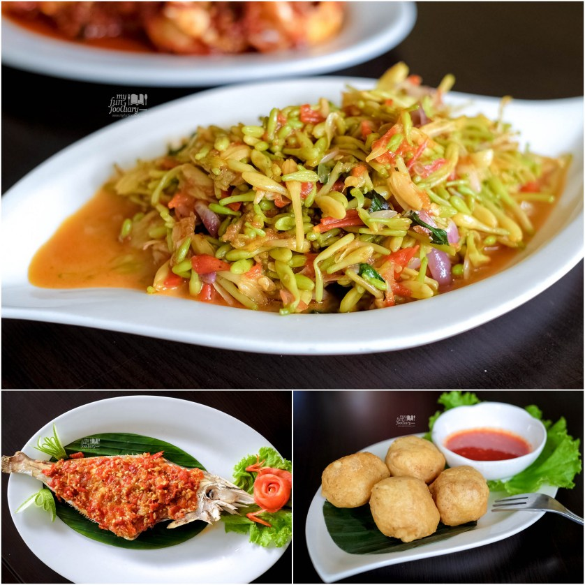 Sayur Bunga Pepaya - Ikan Sukang Rica - Tahu Isi at Puang Oca Restaurant by Myfunfoodiary