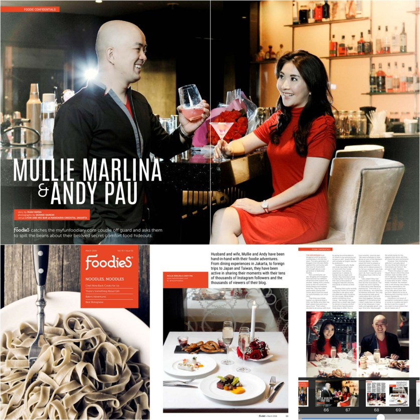 Featured in Foodies Magazine May edition 2016 by Myfunfoodiary r1