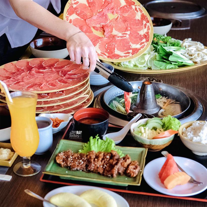 All You Can Eat Beef Shabu Shabu at Yakoya Omori Shabu Shabu Restaurant by Myfunfoodiary