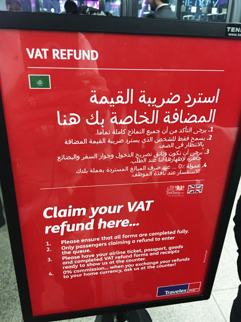 Claim your VAT Refund here at Heathrow Airport, London
