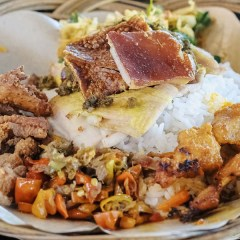 [NEW SPOT] Babi Guling Rice and Balinese Rice at The Fat Pig, Pluit