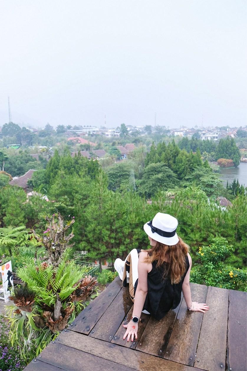 Bandung Kyotoku Mini Town Rainbow Garden Floating Market Tiket Masuk Lembang Setelah Berkeliling