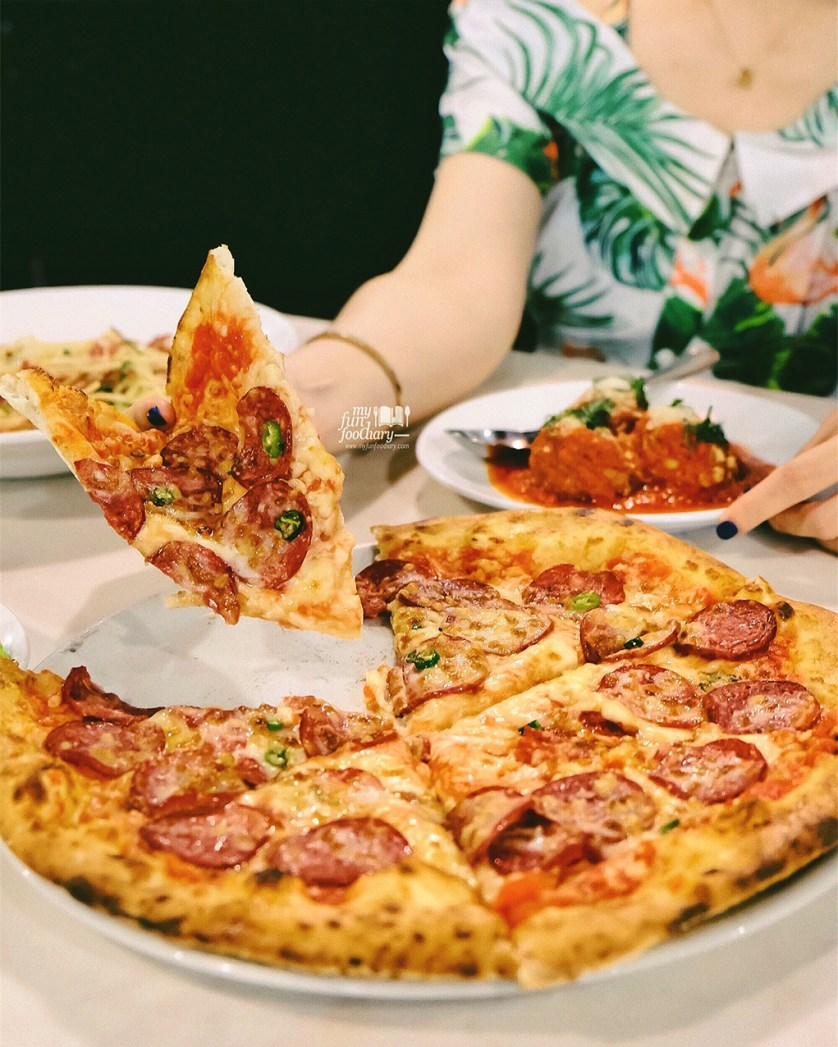 Neopolitan Pizza at Motorino Pizza Sky Avenue Mall Genting by Myfunfoodiary