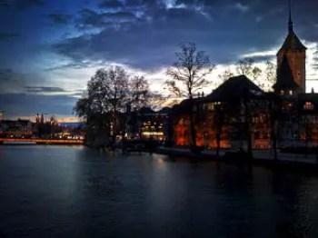 Zurich at nigh