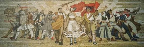 tirana mural