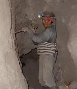 Potosi miner