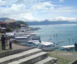 Lake Atitlan boats