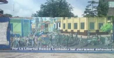 steet art in leon, nicaragua