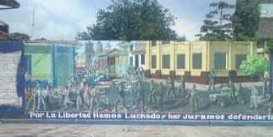 Leon Street art Nicaragua