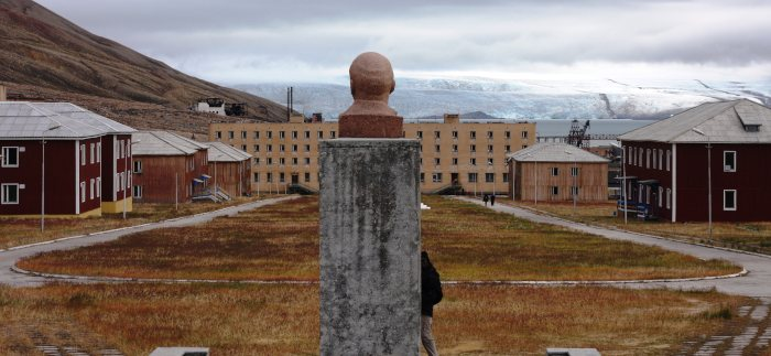 pyramiden ghost town