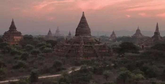Backpacking Route in Myanmar