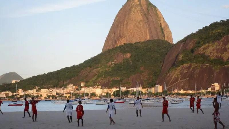 Rio beach soccer