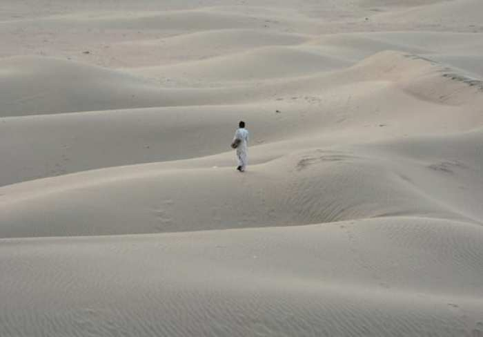 the desert in Jaisalmer