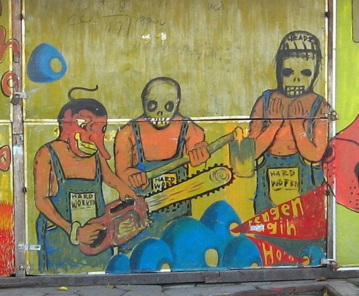street art in Indonesia